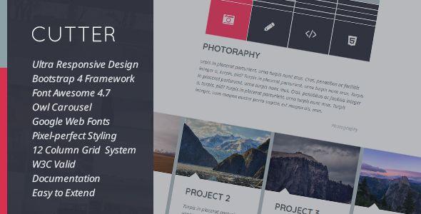 nice Cutter - Corporate Project Multipurpose HTML Template (Enterprise)