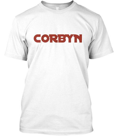 Corbyn White T-Shirt Front