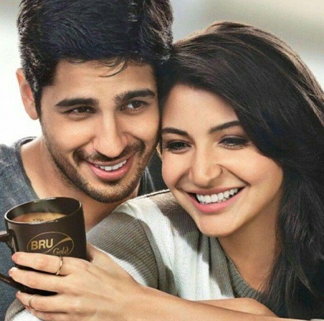 Siddharth Malhotra and Anushka Sharma
