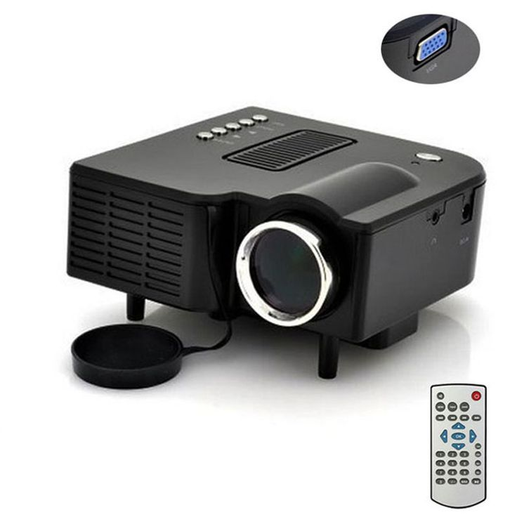 >> Click to Buy << UC28+1080P HD Multimedia Portable mini LED Projector projecteur Home Theater HDMI VGA AV USB SD lamp Remote Control proyector #Affiliate