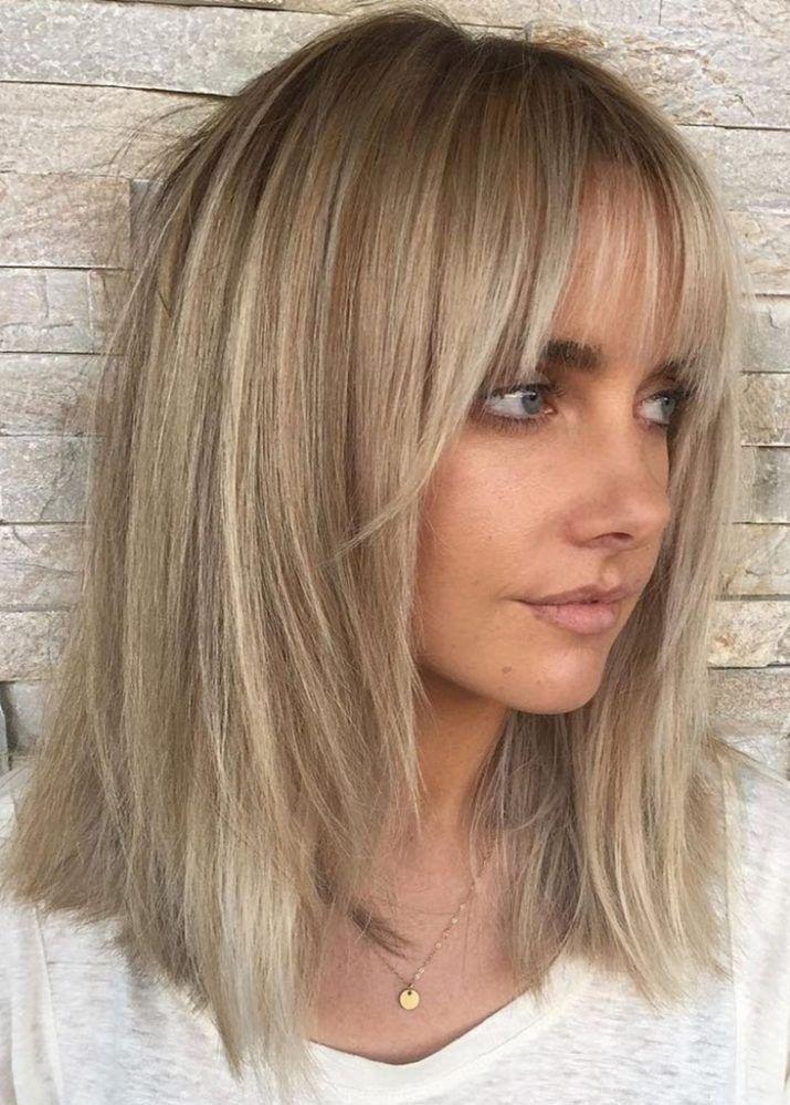 42+ Layered fine hair medium length hairstyles inspirations