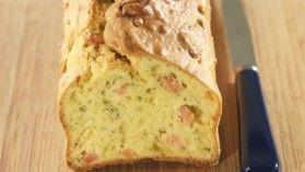 Cake au saumon et à l'aneth - Recette spéciale pour machine à pain - ELLE