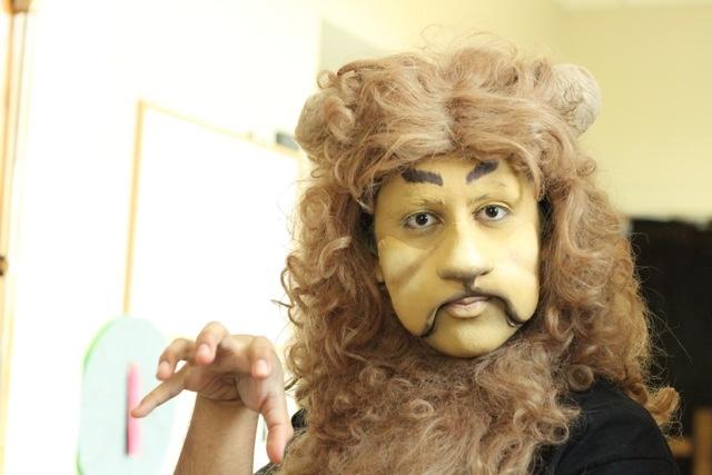 Cowardly Lion!