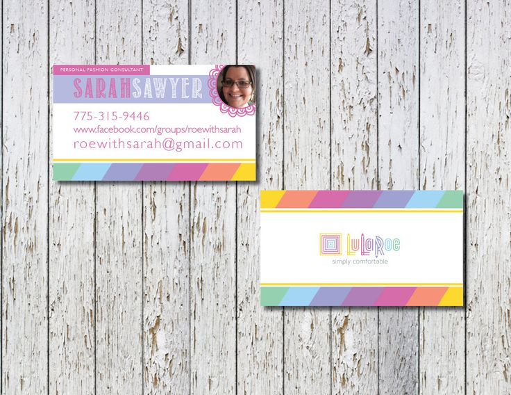 16 best images about lularoe business cards on pinterest for Lularoe business card ideas