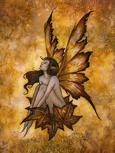 amy+brown+fairies | Inspiration and Crafts: Autumn Fairies. Artist: Amy Brown