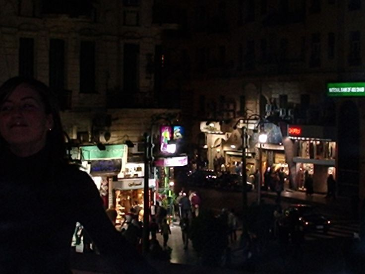 The French Quarter of cairo from the balcony of the Greek Club