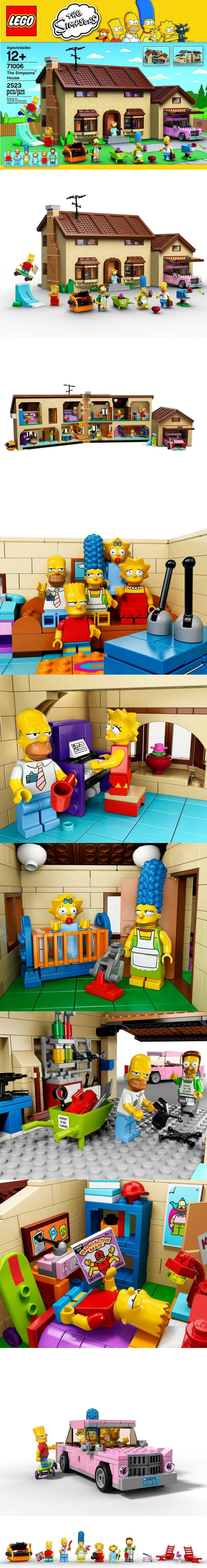 LEGO 71006 - The Simpsons House - official images