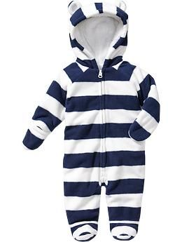 Penn State baby gift Micro Performance Fleece Hooded One-Pieces for Baby | Old Navy