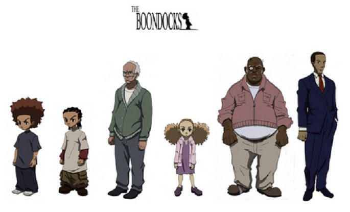The Boondocks Characters - Bing images