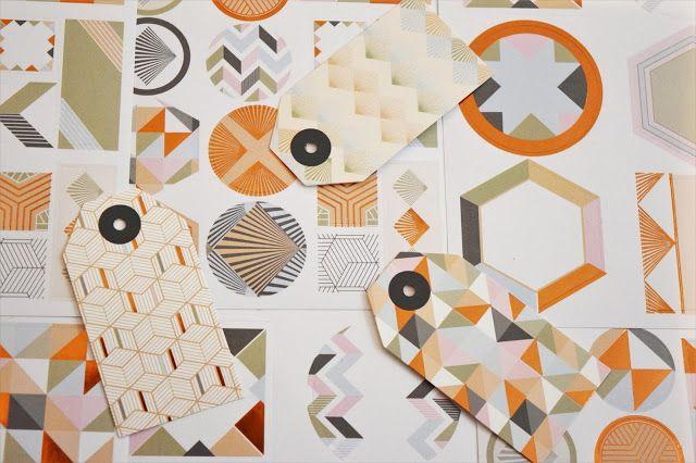 Geometric Ikea Stationery