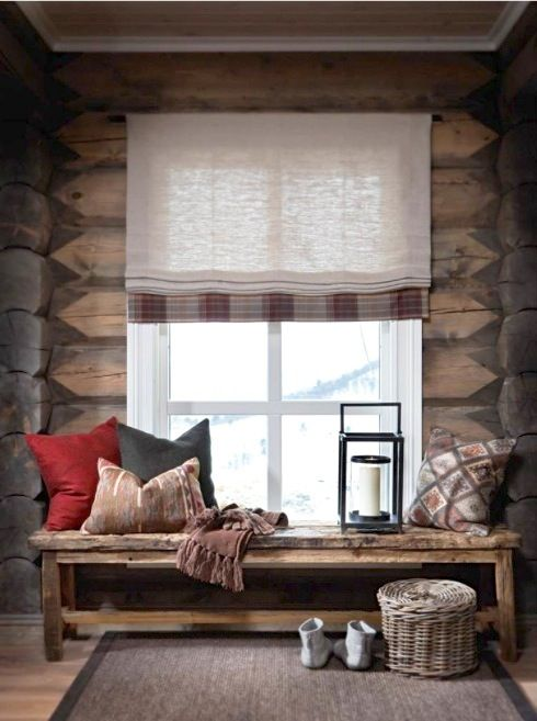simple moments could be spent here; all you need is a cozy wood space and a vibrant window