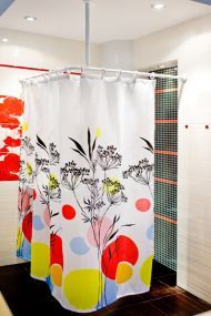le 25 migliori idee su duschvorhangstange su pinterest regal mit schubladen schubladenelement. Black Bedroom Furniture Sets. Home Design Ideas