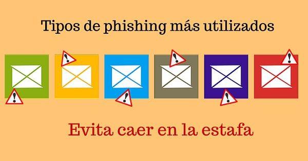 Tipos de phishing m s utilizados seguridad en la red for Tipos de toldos para balcones