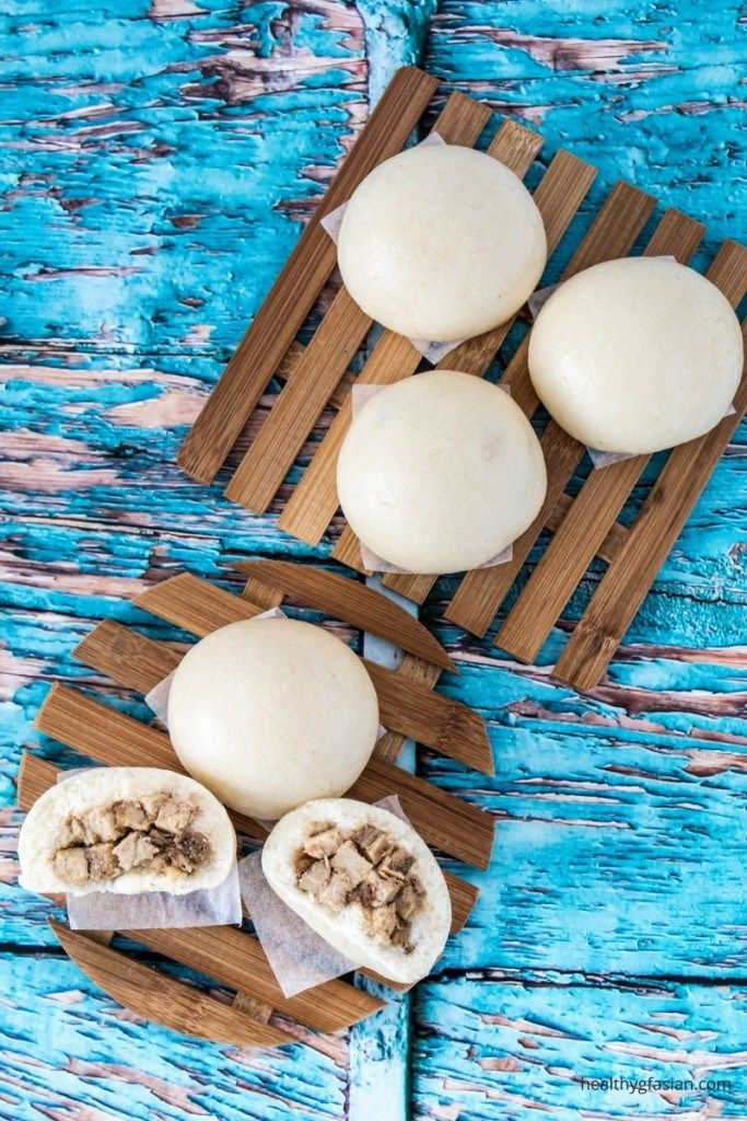 Gluten Free Chinese Steamed Barbecue Pork Buns (Char Siu Bao)