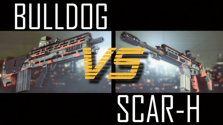 BULLDOG VS. SCAR-H - #BF4 FACEOFF! (Battlefield 4 Dragon's Teeth PC Gameplay)