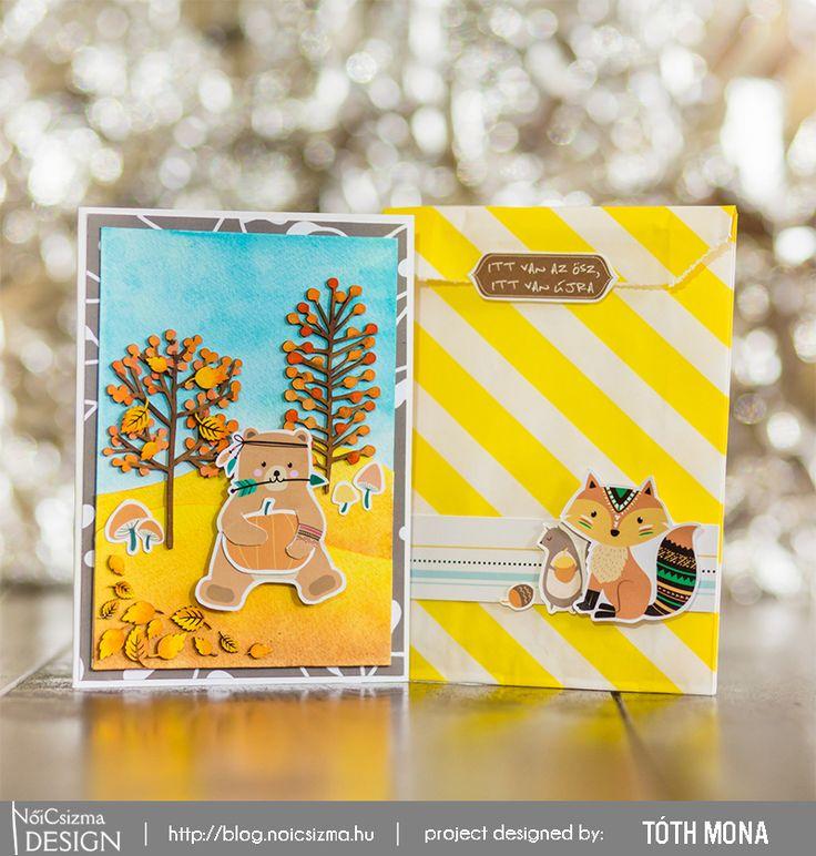 Cute Fall themed Card