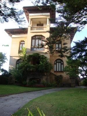 Villa Argentina. Hacia 1920. Paseo de la Playa (Ribadesella)