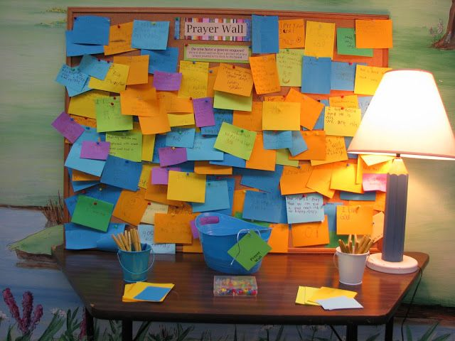 Great ideas for Worship Response Stations to end Kids' Worship once a month.