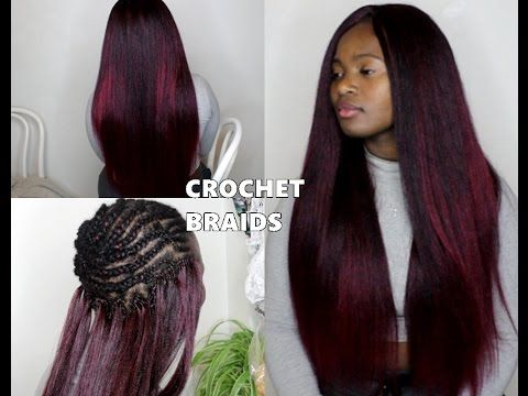 HOW TO D0 NEAT CROCHET BRAIDS - YouTube