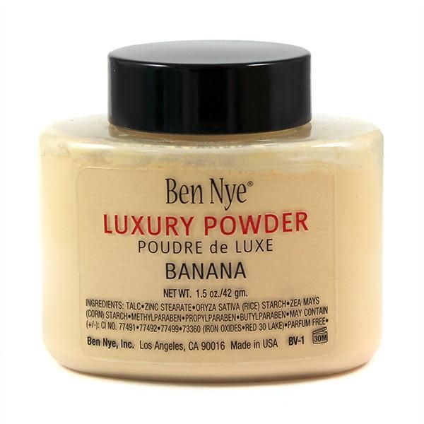 Ben Nye's Bella Luxury Banana Powder give you more than enough reason to go bananas for these silky-fine, mattifying translucent setting powders! With just a hint of color, you won't miss the white cast in your photos that often comes with other finishing powders. Gracing your kit in 4 luxurious tints, there's a Bella beautiful shade for everyone! See what all the buzz is about in just a light dusting of Banana. The versatile Banana shade suits a range of skin tones as it softly and subtly…
