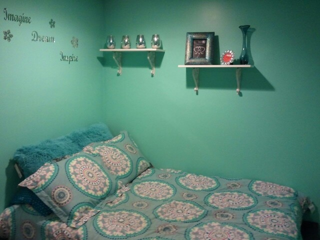 teal bedroom iu0027m into it