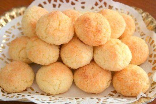 Быстрое печенье из кокосовой стружки