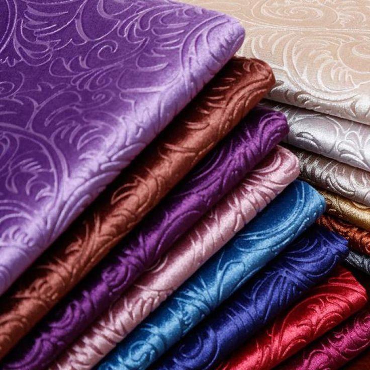 1 м тиснением золотой бархатная ткань обивки для дивана прожженного бархата ткани штор фиолетовый серый красный Tecidos в метро tissus