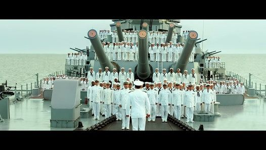 Starring: Nicolas Cage, Tom Sizemore, Thomas Jane USS Indianapolis: Men of Courage Official Trailer 1 (2016) - Nicolas Cage Movie  The harrowing true story of the crew of the USS Indianapolis, who were stranded in the Philippine Sea for five days after delivering the atomic weapons that would eventually end WWII. As they awaited rescue, they endured extreme thirst, hunger, and relentless shark attacks.