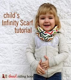 Infinity Scarf for kids