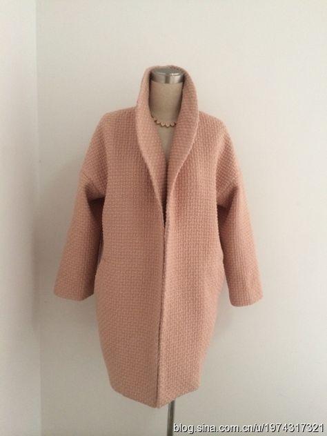 Простая и готовая выкройка стильного пальто-кокон