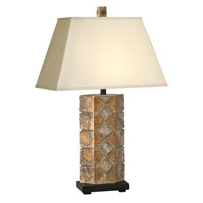 Shop complements table lamp canyon stone at lowes canada find our selection of table lamps at the lowest price guaranteed with price match off