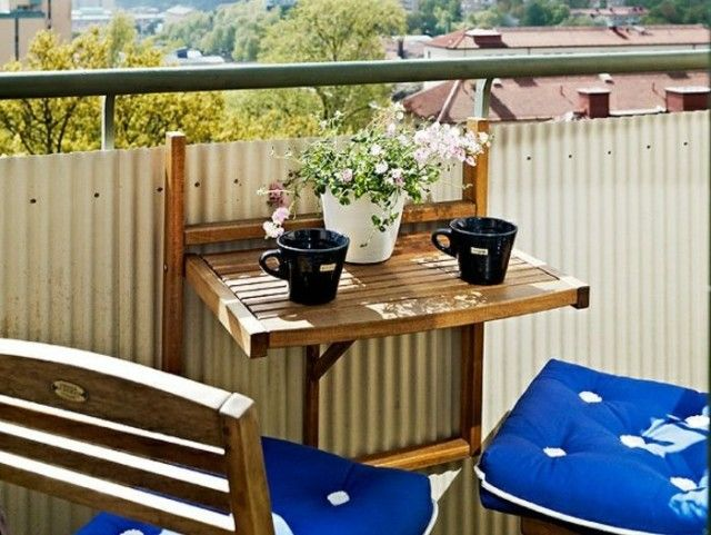 1000 id es sur le th me table rabattable sur pinterest - Table balcon suspendue ikea ...