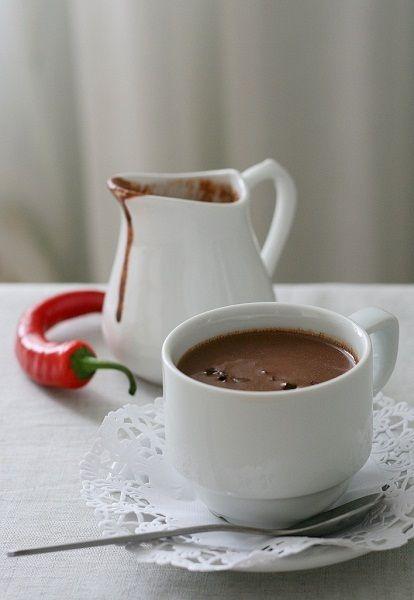Горячий шоколад напиток богов.