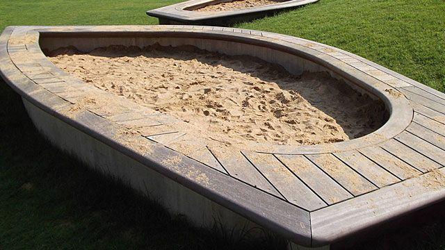 10 szuper homokozó házilag, fotókkal