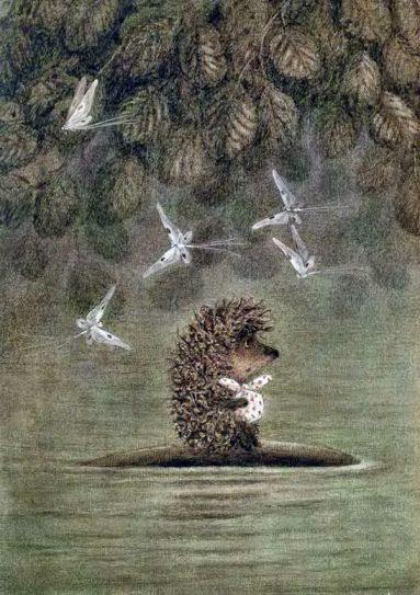 Hedgehog in the fog    --    by Francesca Yarbusova