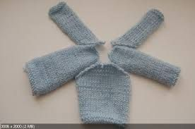Image result for вяжем одежду для тильды