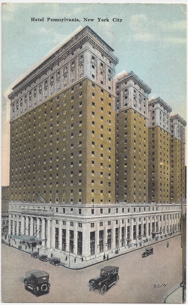 Hotel Pennsylvania New York City Postcard