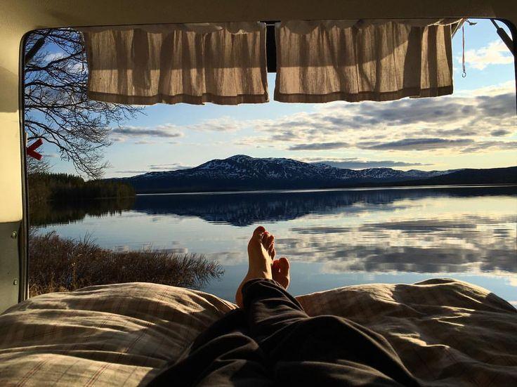#jämtland #sweden #wanderlust #vanlife #westfalia #vanagon
