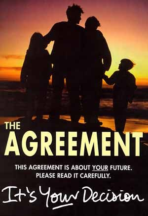 El Acuerdo de Viernes Santo (en inglés: Good Friday Agreement), también llamado el Acuerdo de Belfast, fue firmado en Belfast, Irlanda del Norte, el Viernes Santo de 1998 (10 de abril). http://news.bbc.co.uk/hi/english/static/northern_ireland/understanding/events/good_friday.stm #TheTroubles