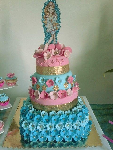 Torta de ever after high