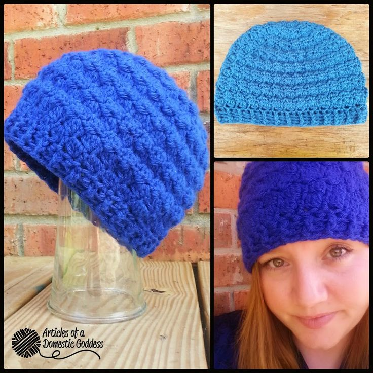 Pattern Release! Sherri Berry Reversible Cluster Beanie Pattern | Articles of a Domestic Goddess