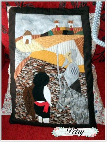 Don Quijote y Sancho. www.petry.es