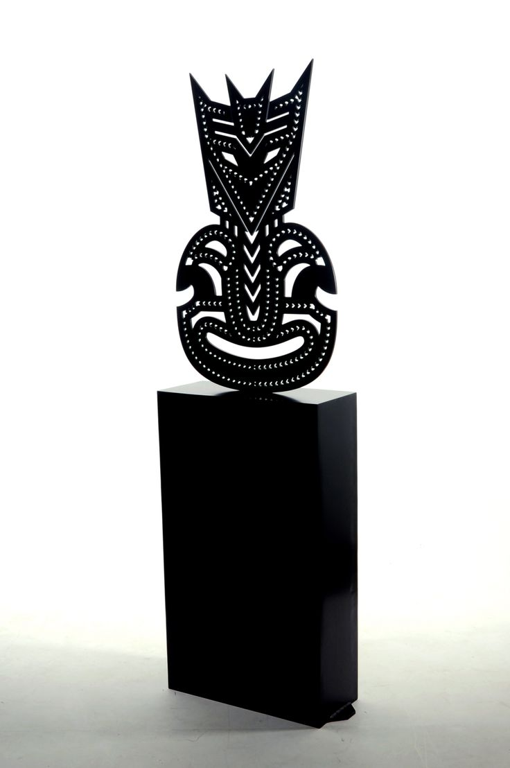 """Deceptiki"" Matte black powder coated Aluminium 2000x587x250mm"