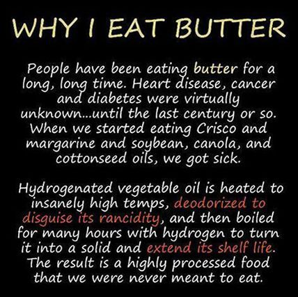 Butter is better
