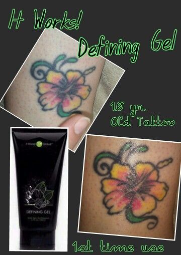 Do you have an old tattoo thats faded it works defining for Best lotion for old tattoos
