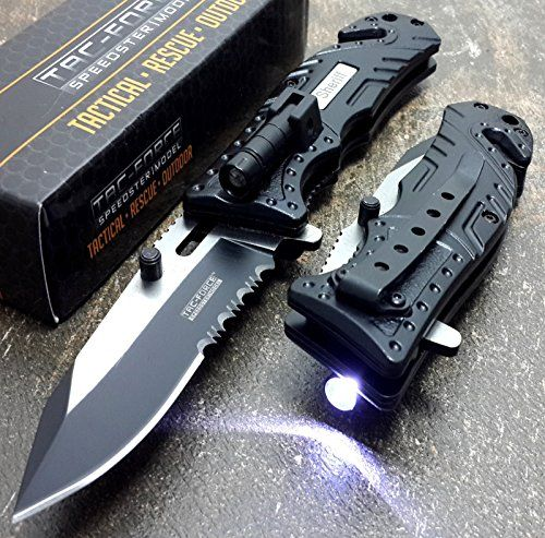 Tac Force Sheriff LED KNife good pocket knives