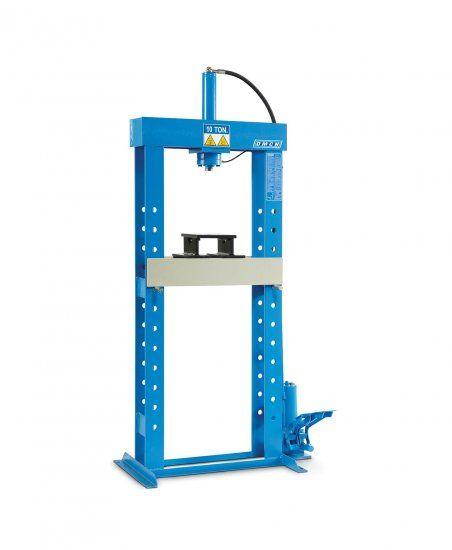 Pressa Idraulica con Pompa a Pedale OMCN 154-P 10T