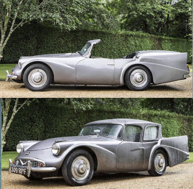 1960 Daimler SP250 'Dart' retractable hardtop concept