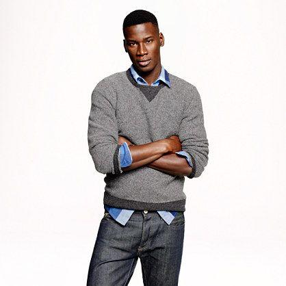 J.Crew - Lambswool sweatshirt sweater