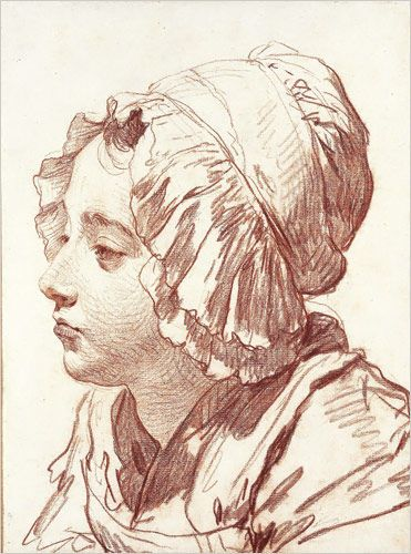 """A woman"", Jean-Baptiste Greuze. Photo: The Metropolitan Museum of Art"